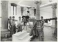 Fokker-expositie in de Vleeshal met een exemplaar van 'De Spin'., NL-HlmNHA 54015318.JPG