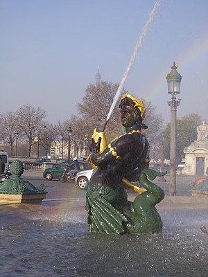 Fontaines de la Concorde - Fontaines de la Concorde (detail)