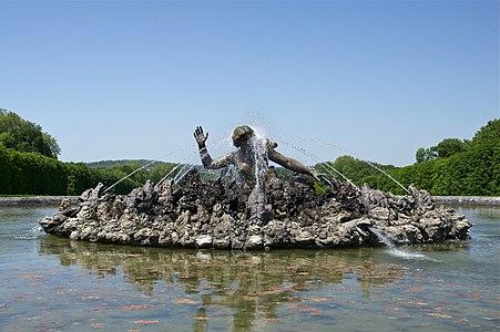 Fountain. Park of the Château de Champs-sur-Marne.