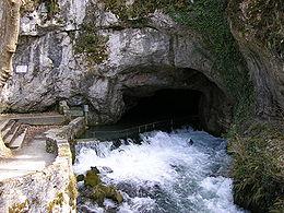 La fontaine intermittente de Fontestorbes.