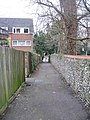 Footpath and flint wall 2 - geograph.org.uk - 1370340.jpg
