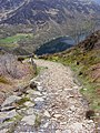 Footpath descending towards Llyn Dinas - geograph.org.uk - 1384061.jpg