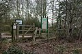 Footpath entrance to Ryton Pools Country Park - geograph.org.uk - 1204892.jpg