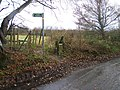 Footpath on Holywell Lane - geograph.org.uk - 1073504.jpg
