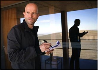 Marc Forster - Marc Forster on set shooting Quantum of Solace.