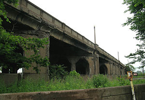 Fort Street–Pleasant Street and Norfolk & Western Railroad Viaduct - Image: Fort Street Norfolkand Western RR