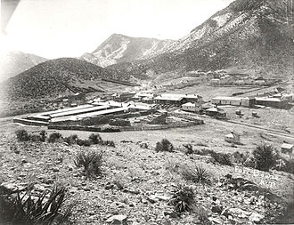 Fort Bowie - Fort Bowie in 1893.