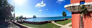 Fort Frederik - Image: Fort Frederik, St. Croix, USVI 2nd story facing west
