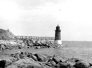 Fort Pickering Light - US Coast Guard photo