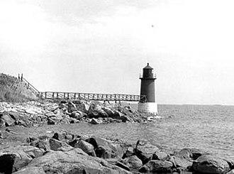 Fort Pickering Light - US Coast Guard photo