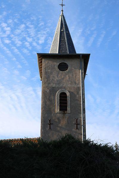 Fos (Hérault) - église Saint-Jean - clocher