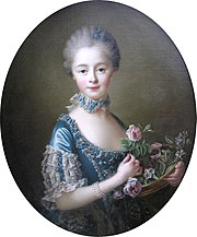 François-Hubert Drouais - Lady Amelia Darcy, 9th Baroness Conyers (1754-1784)
