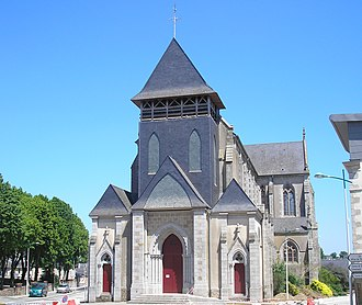 Villaines-la-Juhel - The church of Saint-Georges, in Villaines-la-Juhel