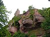 France Bas-Rhin Girbaden Castle Keep.JPG