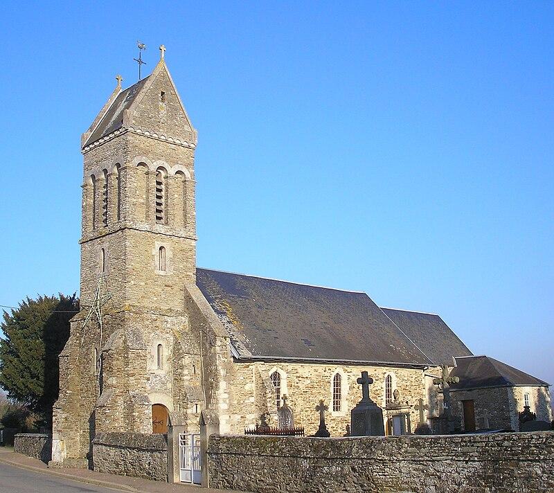 France Normandie Aurseulles Feuguerolles Eglise.jpg