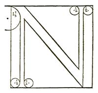 Francesco Torniello da Novara Letter N 1517.png
