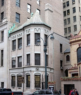 St. Francis of Assisi Church (Manhattan) - Image: Francis of Assisi RCC W31 jeh
