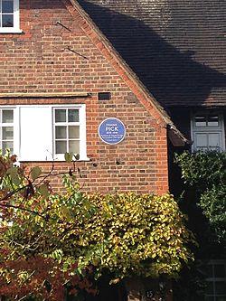 Photo of Frank Pick blue plaque