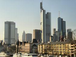 Frankfurt é o centro financeiro do país.