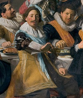 Michiel de Wael - Image: Frans Hals Michiel de Wael holds out his empty glass