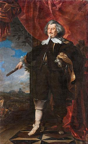 Frans Luycx - Portrait of Rudolf von Colloredo