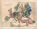 Fred. W. Rose The Avenger An Allegorical War Map for 1877 1877 Cornell CUL PJM 1080 01.jpg
