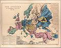 Fred. W. Rose The Avenger An Allegorical War Map for 1877 1877 Cornell CUL PJM 1080 01.jpg