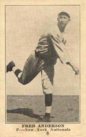 Fred Anderson (baseball) - Image: Fred Anderson baseball