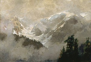 Frederic Marlett Bell-Smith - Image: Frederic M. Bell Smith Mists and Glaciers of the Selkirks