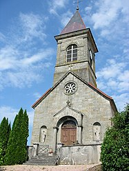 The church in Fremifontaine