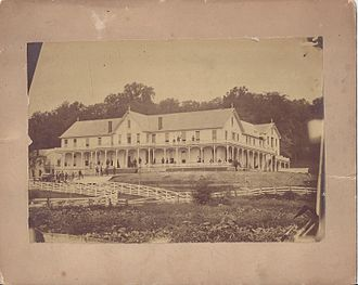 French Lick Springs Hotel - Hotel in the 1880s