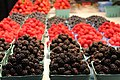 Fresh berries at the Vancouver, BC farmers market.jpg