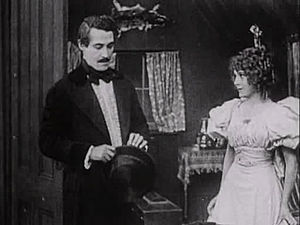 Friends (1912 film) - Henry B. Walthall and Mary Pickford