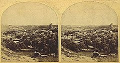 Frith, Francis (1822-1898) - Views in the Holy Land - n. 422 - Bethany from the South.jpg