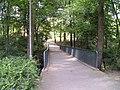 Fußgängerbrücke über den Altrhein Hellerhof.JPG