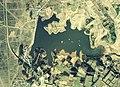 Fujieda-Tameike water reservoir Aerial photograph.1975.jpg