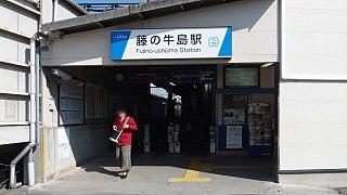 Fujino-ushijima Station Railway station in Kasukabe, Saitama Prefecture, Japan