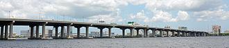 Fuller Warren Bridge - Image: Fuller Warren Bridge, Jacksonville, FL, US