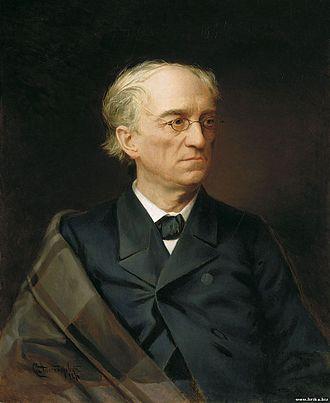 Fyodor Tyutchev - Tyutchev as painted by Stepan Alexandrovsky