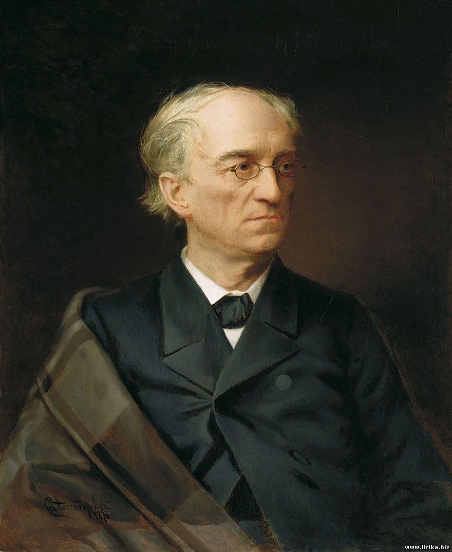 Tyutchev as painted by Stepan Alexandrovsky
