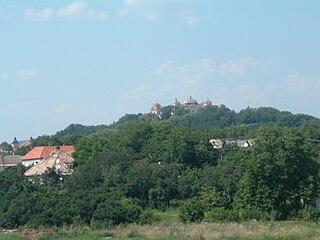 Halič Village in Slovakia