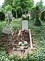 G. S. W. West The London Regiment war grave Southgate Cemetery.jpg