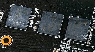 GDDR5 SDRAM Type of high performance DRAM graphics card memory