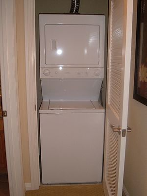GE Spacemaker Laundry combination washing mach...