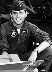空軍州兵時代のブッシュ
