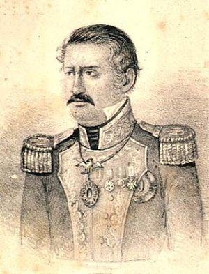 Gabriel Valencia - General Gabriel Valencia, in an 1848 lithograph
