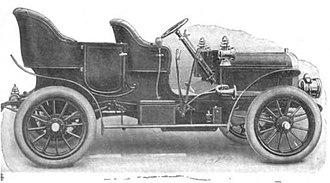Gaeth - 1906 Gaeth Four Cylinder Touring Car