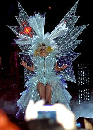 "So Happy I Could Die - Gaga performing ""So Happy I Could Die"" on The Monster Ball Tour, while wearing the ""Living Dress""."
