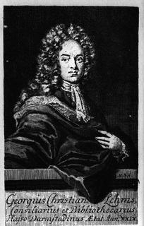 Georg Christian Lehms German poet and librettist