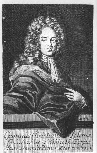 Geist und Seele wird verwirret, BWV 35 - Georg Christian Lehms, author of the text